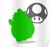 Smash Bros - Bowser Jr. Poster