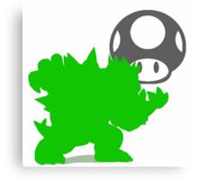 Smash Bros- Bowser Canvas Print