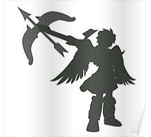Smash Bros - Dark Pit Poster