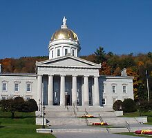 Montpelier, Vermont Capitol by Linda Jackson