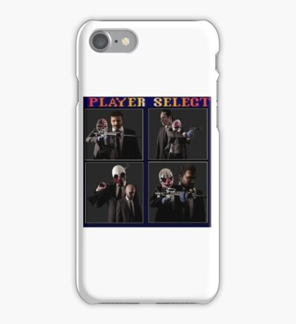 Payday: Player Select iPhone Case/Skin