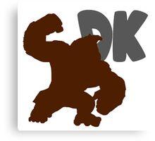 Smash Bros - Donkey Kong Canvas Print
