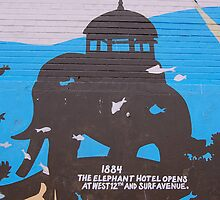 Coney Island Mural No.10 by maxwell78