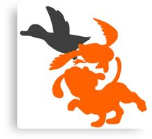 Smash Bros - Duck Hunt Canvas Print