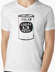 FIDLAR - Cheap Beer Mens V-Neck T-Shirt