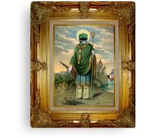 Saint Green Canvas Print