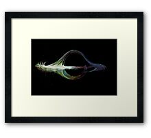 Falling into Psychedelia Framed Print