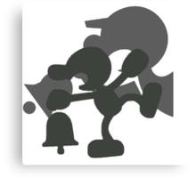 Smash Bros - Mr. Game & Watch Canvas Print