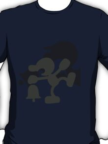 Smash Bros - Mr. Game & Watch T-Shirt
