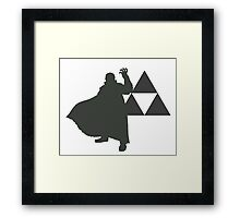 Smash Bros - Ganondorf Framed Print