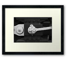 Locomotive drive mechanism 2 Framed Print