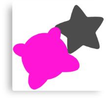 Smash Bros - Kirby Canvas Print