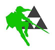 Smash Bros - Link Photographic Print