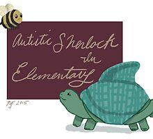 Autistic Sherlock in Elementary  by mjfitz