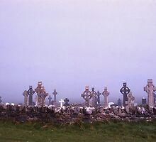Tombstones, Ballybunion, Ireland by Peter Stephenson