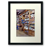 Absinthe Makes The Heart Grow Fonder Framed Print