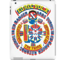 Ed Banger Records - Ed Rec Vol. X iPad Case/Skin