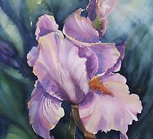 Good Morning Iris by Vickyh