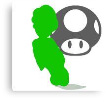Smash Bros - Luigi Canvas Print