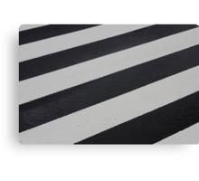 Industrial Zebra Canvas Print