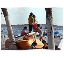 Beach Kids Poster