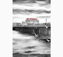 Black and White Flight (Worthing Pier,  West Sussex) Unisex T-Shirt