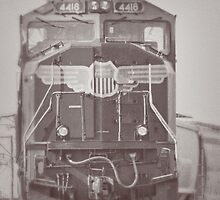 Union Pacific Train by Kadwell