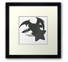 Smash Bros - Metaknight Framed Print