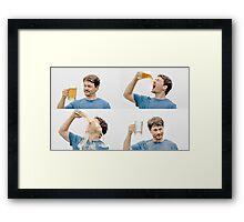 Beer Cheer Framed Print