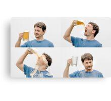 Beer Cheer Canvas Print