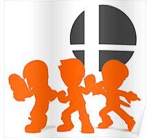 Smash Bros - Mii Fighter Poster