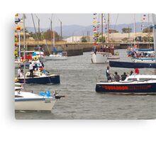 flotilla for kids Canvas Print