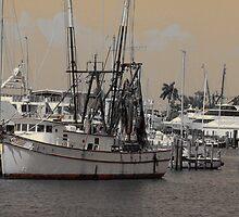 Shrimp Boat by Rosalie Scanlon