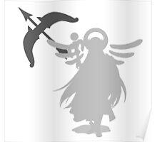 Smash Bros - Palutena Poster