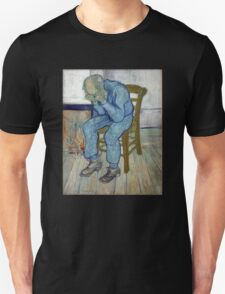 'At Eternity's Gate' by Vincent Van Gogh (Reproduction) Unisex T-Shirt