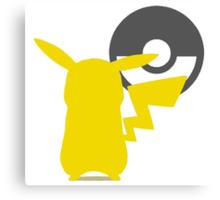 Smash Bros - Pikachu Canvas Print