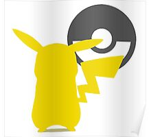 Smash Bros - Pikachu Poster