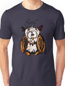 owl and smile  Unisex T-Shirt