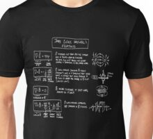 Maxwell's Equations [dark] Unisex T-Shirt