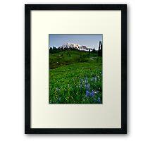 Mountain Dawn Framed Print