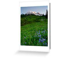 Mountain Dawn Greeting Card