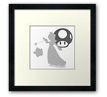 Smash Bros - Rosalina & Luma Framed Print