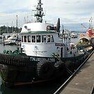 Benjamin Foss Tugboat by Marjorie Wallace