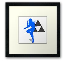 Smash Bros - Sheik Framed Print