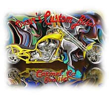 Custom Bikes Photographic Print