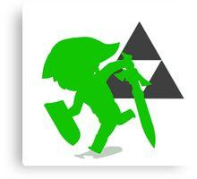 Smash Bros - Toon Link Canvas Print