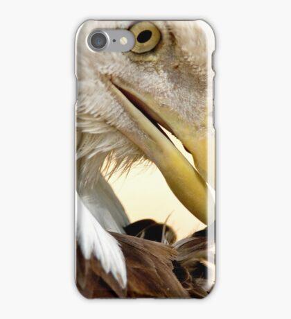 Bald Eagle Pruning iPhone Case/Skin