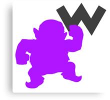 Smash Bros - Wario Canvas Print