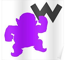 Smash Bros - Wario Poster