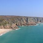Porthcurno Panorama by Chris Thaxter